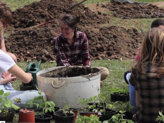 GC Adamah Community Garden video by Andie Rea