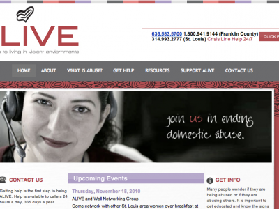 ALIVE: Alternatives to living in violent environments