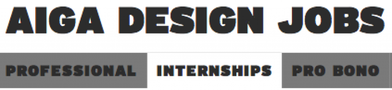 AIGA Design Internships