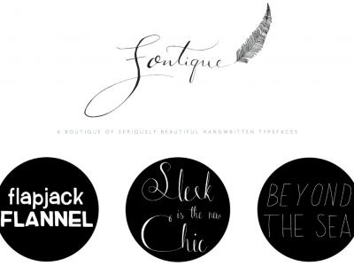 Fontique – A BOUTIQUE OF SERIOUSLY BEAUTIFUL HANDWRITTEN TYPEFACES