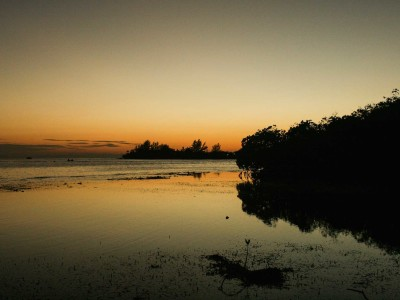 The Setting Sun on Utila