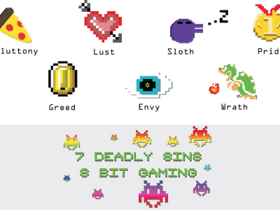 7 deadly sins of 8 bit gaming