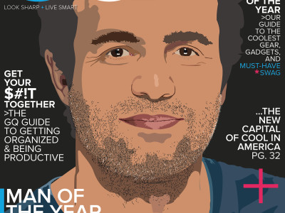 Mark Ruffalo GQ Magazine Cover