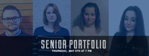 The second installment of senior portfolios for the semester! Please come support our next four seniors as we view their work while enjoying some great meats and cheeses! Aaron Phillips (7:00) Briana Phillips (7:35), Fallyn Paruleski (8:10) and Brooke McIntire (8:45). Facebook Event.